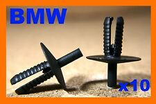 10 BMW 3 5 7  X5 series bumper scratch scratch strip push fastener rivet clips