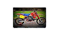 1987 honda cr500 Bike Motorcycle A4 Photo Poster