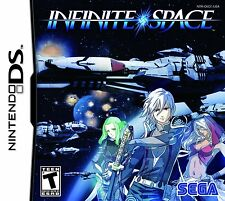 Infinite Space [Nintendo DS DSi NDS, Exclusive Space Opera Ship Battle RPG] NEW