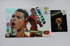 Cristiano Ronaldo XXL Limited Edition Panini Adrenalyn XL World Cup Brasil 2014