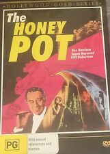The honey Pot Rex Harrison Susan Hayworth Cliff Robertson Region 4 DVD VGC
