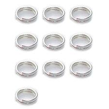 10 x 4 mm anelli brisè argento Sterling Charm' 925 portachiavi anelli pass-fspr400-xx10
