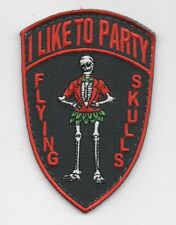 "USAF Patch 512th RESCUE SQUADRON, Morale patch, ""I LIKE TO PARTY"", 3 & 5/8"" Size"