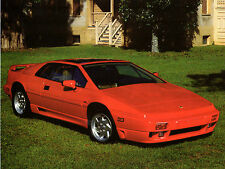 Lotus Esprit Turbo SE 1990-91 USA Market Leaflet Sales Brochure