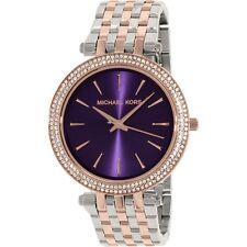 Michael Kors Darci MK3353 Women's Round Bracelet Purple Dial Quartz Watch