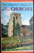OBSERVER's BOOK of CHURCHES No.36 by L.E.JONES with UNCLIPPED D/W 1969 EDITION