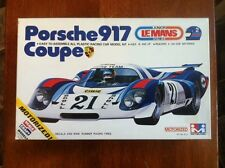Vintage MITSUWA Model PORSCHE 917 COUPE RACE CAR Kit #612 MOTORIZED