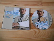 CD Hiphop Pitbull - Secret Admirer (1 Song) Promo TVT EUROPE REC