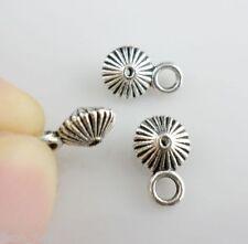 24pcs Tibetan Silver Biconical shape Connectors Bails Pendant (Lead-free)