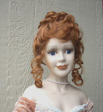 """Doll Wig - #WTA2 """"Upsweep"""" Size 5""""(head): CHOICE of color."""