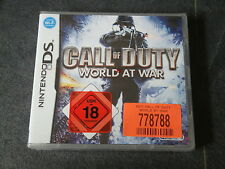 DS juego Call of Duty-World of War
