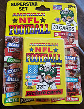 1989 TOPPS UNITED KINGDOM UK UNOPENED NFL CARD SET SEALED CASE OF 24 SETS MARINO
