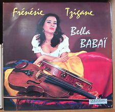BELA BABAÏ FRENESIE TZIGANE SEXY CHEESECAKE COVER FRENCH LP MUSIDISC