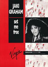 Set Me Free-Jaki Graham - 1986 Partituras