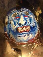 David Aebischer Full Size Goalie Mask Colorado Avalanche