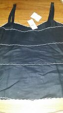 THE LOFT TANK SIZE 0 BLUE NEW WITH TAGS