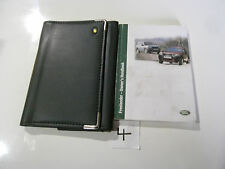 LAND ROVER FREELANDER BOOK PACK OWNERS MANUAL HAND BOOK WITH WALLET   (4)