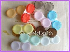 Buy 2 Get 1 Free  Contact Lens Soaking Case Storing Holder Box 10 Colors