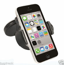 360 WINDSCREEN in CAR KIT MOUNT HOLDER CRADLE FOR APPLE IPHONE 7 6 6S 5 5C 5S 4S