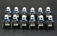 12 pcs STAR WAR Clone Trooper Captain Minifigures toys (019) fit lego in bags