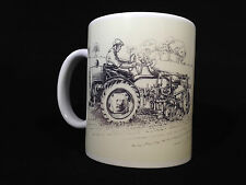 David Brown 2D tractor plough mug