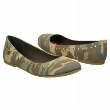WOMEN'S ROXY *JOLIE STUDDED* CAMOFLAGE SHOES SIZE 6.5