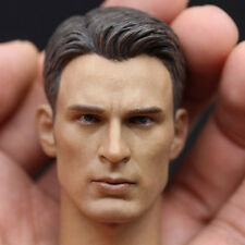 Avengers alliance Captain America HEADPLAY Chris Evans head carved 1/6 FIGURE