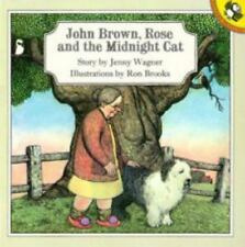 John Brown, Rose and the Midnight Cat (Picture Puffin) by Wagner, Jenny
