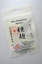 Sake home brew kit Vision Brewing koji kin koji tane 25 gram Aspergillus Oryzae