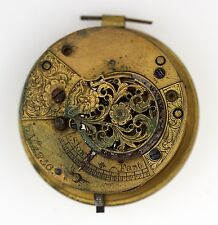 ENGLISH VERGE FUSEE POCKET WATCH MOVEMNT SPARES REPAIRS Q27