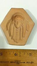BOHO BOHEMIAN MAIDEN GODDESS FACE POLYMER CLAY PUSH MOLD