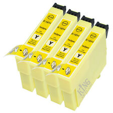 Compatible Ink Cartridges Yellow 4 x T1814 for Printers XP-302, XP-305, XP-402