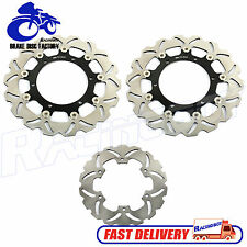 Front & Rear Brake Disc Rotor for Yamaha YZF R1 R6 1999 2000 01 02 2002 2003
