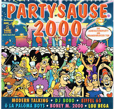 Partysause 2000    Doppel CD-Album 41 Tracks