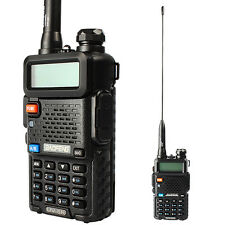 BaoFeng UV-5R Dual Band Tri-Power 1/4/8W Two-Way Radio + Donewin Dat 231 Antenna