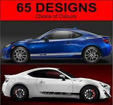 toyota gt86 side stripes decals graphics side stripe toyota gt 86 both sides