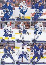 Toronto Maple Leafs 2016-17 Upper Deck Complete Team Set 13 Different Cards