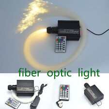 LED Light Starry Sky Fiber Optic Star Ceilling Color Change RGBW Saunas Bedrooms