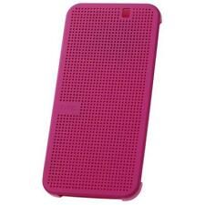 HTC DOT VIEW CASE/COVER FOR NEW HTC ONE M9 - HC M231 - GENUINE OFFICIAL PINK