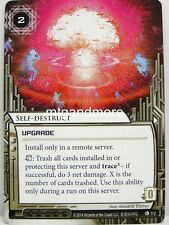 Android Netrunner LCG - 1x Self-Destruct  #112 - The Source