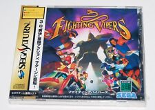 SEGA SS SATURN / Fighting Vipers / import from Japan / Factory Sealed / New