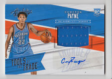 CAMERON PAYNE 2015-16 Absolute Tools of the Trade Jersey Auto RC #D 99/99 OKC RC