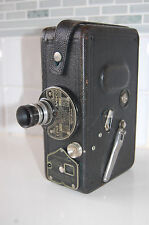 VINTAGE CINE ANSCO MOVIE CAMERA 16 MM MODEL B BY AGFA  ANSCO  ORIGINAL CASE