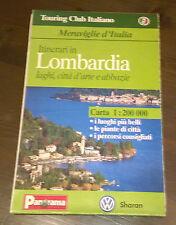 "Libri/Riviste/Giornali""TOURING CLUB ITALIANO LOMBARDIA CARTA PANORAMA SHARAN"""