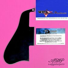 PLAQUE PICKGUARD style GIBSON ES-335-45 355 SHORT NOIRE Black 3ply Humbuckers WD