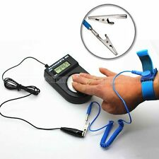 Anti Static ESD Wrist Strap Discharge Band Grounding Prevent Static Shock