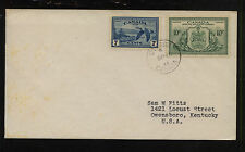 Canada  C9, C11  first day cancel cover  1946        KL0818