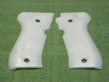 Custom Grips for Browning BDA 380 Pearl White Stag Emblem