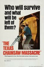 The Texas Chainsaw Massacre movie poster print : Marilyn Burns : 11 x 17 inches