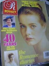 Royalty Magazine V11 #5 Lady Helen Next Royal Bride, Queen 40 Years On Throne